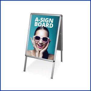 Stop Trottoir A1 Recto/Verso est un support de communication publicitaire indispensable double facepour mettre en avant votre communication publicitaire.